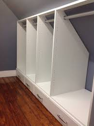 Attic ideas  designs for narrow closets with slanted ceilings - Google  Search