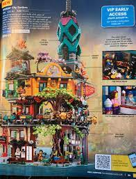 First legitimate picture of Ninjago City Gardens! | Brickset: LEGO set  guide and database
