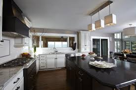 suburban lake house kitchen update
