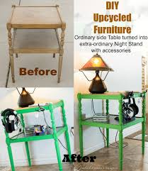 diy furniture makeover. DIY Furniture Makeover; Side Table Makeover Diy