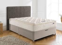 Ottoman Bedroom Silentnight Chantilly Pocket Sprung Ottoman Bed Medium Firm Dreams
