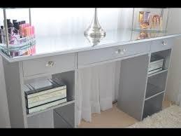 diy mirrored furniture. DIY Mirrored Vanity Diy Furniture