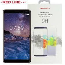 Red Line <b>Гибридная защитная пленка</b> для Nokia 7 Plus | купить в ...