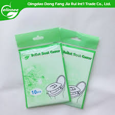 Disposable Toilet New Design Disposable Toilet Seat Cover Paper Green Pack Buy