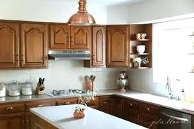 copper kitchen accessories updating oak cabinets copper kitchen accessories updating oak cabinets without painting them