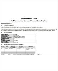 Appraisal Templates Delectable 48 Sample Appraisal Forms In DOC Sample Templates