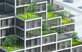 of the tower leans towards north and creates a variety sky gardens along terraced south side building arenu0027t cool cool modern architecture95 architecture