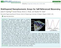 Paper Published In Acs Applied Materials And Interfaces Aw Clark