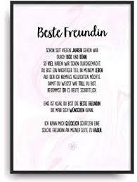 Interluxe Postkarte Aus Holz Liebe Beste Freundin Karte Din A6