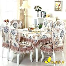 dining table chairs covers dining table chairs covers luxurious round dining table cloth chair covers cushion