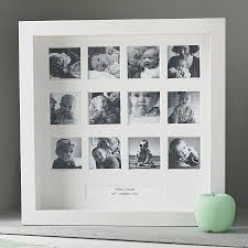 personalised my first year square frame picture frames for children