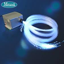 Fiber Optic Light Illuminator Us 265 01 30 Off Maykit 300 Strand 10m Fiber Optic Cable 5w Led Optical Light Illuminator For 10 2m Ceiling In Optic Fiber Lights From Lights
