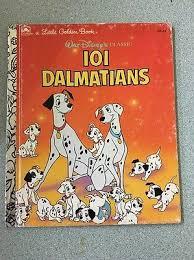 vine 1991 walt disneys clic 101 dalmatians little golden children book