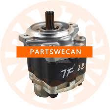 HYDRAULIC PUMP TOYOTA 2Z ENGINE FORKLIFT 6FD 7FD PARTS 67110-23660 ...