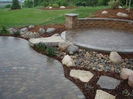 large size of patios raised paver patio drainage building stone patio outdoor wall units versa