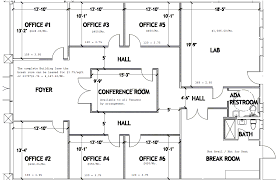 office space plan. Office Space Plan I