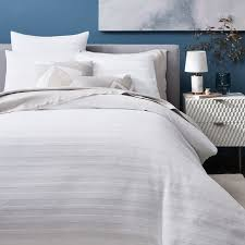 grey and white striped duvet cover. Modren Duvet Intended Grey And White Striped Duvet Cover