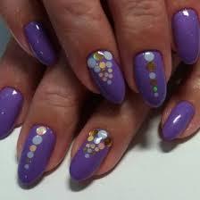 Purple Lilac Manicure 2018 2019 Photo Designs Fashionable Style