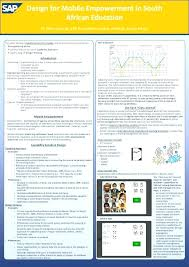 Academic Poster Template Free Scientific A0 Ppt Landscape