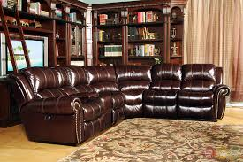 leather sectional sofa traditional. Plain Traditional Parker Living Poseidon Dark Brown TopGrain Leather Sectional Sofa Set For Traditional K
