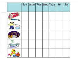 Preschoolers Chore Chart A Grateful Life