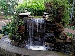 15 Brick & Rock Waterfall Designs To Make Your Neighbourhood Envy With Your Garden - HoliCoffee