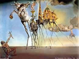 the temptation of st anthony by salvador dali salvador dali  the temptation of st anthony by salvador dali