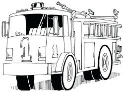 Free Fire Truck Coloring Pages To Print At Page Printable Mtkguideme