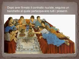 Pranzo Nuziale O Nuziale : Il fidanzamento e matrimonio in epoca romana nel nostro ordiname?