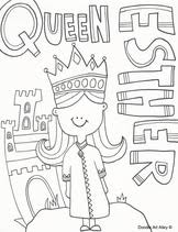 Small Picture Queen Esther Coloring Pages Religious Doodles