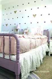bedroom ideas for girls purple. Purple And Gold Bedroom Ideas Little Girl Makeover Pretty For Girls