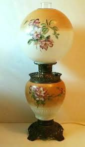 antique hurricane lamp antique gone with the wind oil converted to electric large hurricane lamp vintage hurricane lamp globes