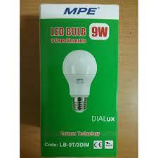 Đèn LED 3 cấp độ sáng 9W MPE LB-9T/3DIM