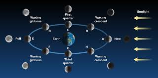 Lunar Phase Chart Phases And Motions Of The Moon Astronomy