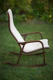 swedish mid century modern lamino rocking chair