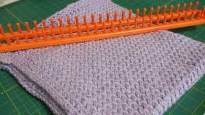 Loom Knitting Patterns Blanket Awesome Decoration