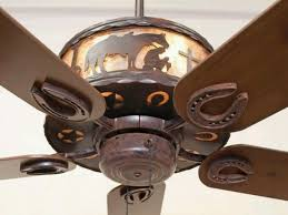 western ceiling fans for cowboy fan in decor 18 swingjazzfl