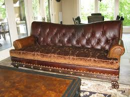 Image of: Sofas Center Tufted Leather Furniture Interior Home Decorating  Pertaining To Leather Tufted Sofa