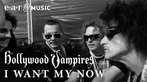 "<b>Hollywood Vampires</b> ""I Want My Now"" Official Music Video - New ..."