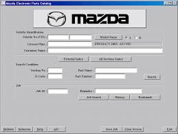 mazda europe lhd spare parts catalog cars catalogues spare parts catalog mazda europe lhd 2011