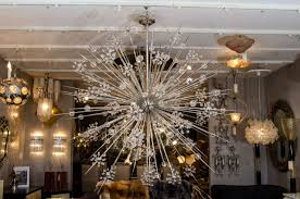 huge chandelier crystal huge custom crystal starburst sputnik chandelier for at 1stdibs module 16
