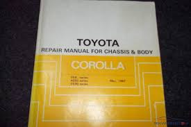 Toyota Corolla repair manual for EE90,AE92 from 1987-91 - Corolla ...