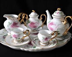 Tea Set Display Stand For Sale Vintage Fernwood AvantGarde Collection From Japan 21