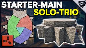 Rust Clan Base Design 2019 Rust Strong Expandable Rust Solo Trio Base Design