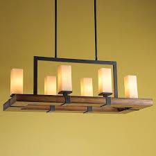 modern rustic lighting. Chandelier, Astonishing Modern Rustic Chandelier Wood Yellow Wall Light Hinging Six : Lighting M