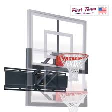 uni champ wall mount basketball goal