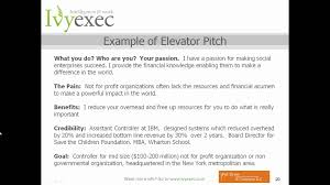 creating your elevator pitch how to communicate your value in 20 .