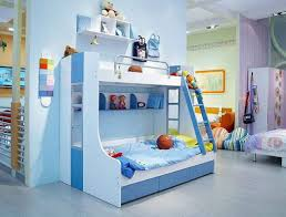 kids bedroom for girls blue. Bedroom Cool Kids Bedrooms Design Ideas Awesome Kid Interesting Small Rooms With Blue Paint And Bunk Beds Rack Great Children Childrens Furniture Little For Girls S
