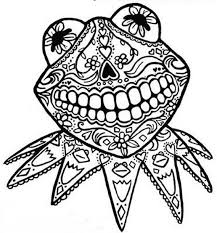 Small Picture Day of the Dead Coloring and Craft Activities family holidaynet