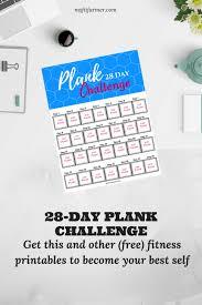 day plank challenge